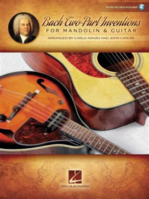 Bach Two-Part Inventions For Mandolin And Guitar