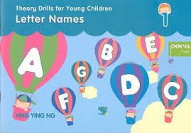 Poco Theory Drills : Letter Names