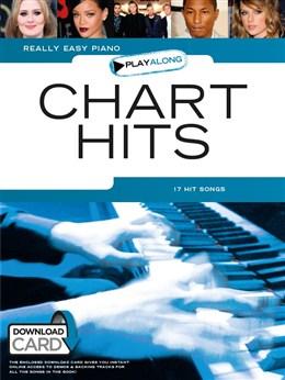 Really Easy Piano Playalong: Chart Hits (Book/Audio Download)