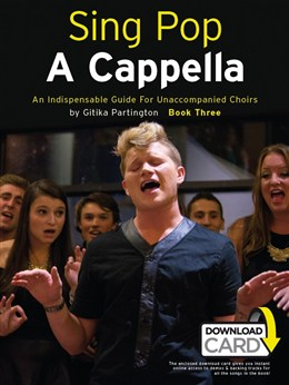 Sing Pop A Cappella - Book Three (Book/Audio Download)
