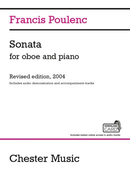 Poulenc Francis : Sonata For Oboe And Piano (Audio Edition)