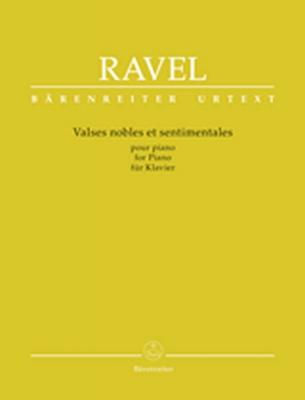 Ravel Maurice : Valses nobles et sentimentales for Piano