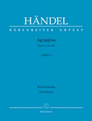 Haendel Georg Friedrich : Agrippina HWV 6 -Opera in three acts-