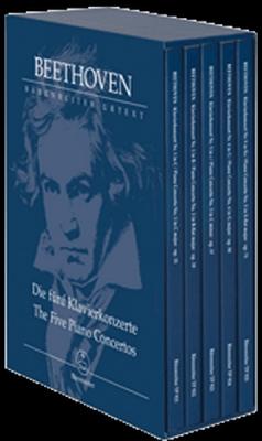 Beethoven Ludwig Van : The Five Piano Concertos
