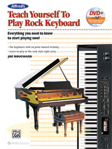 Teach Yourself Rock Keyboard - With Dvd