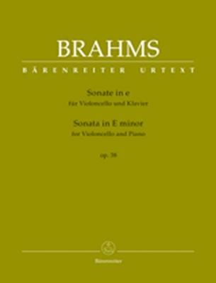 Sonata For Violoncello And Piano E Minor Op. 38