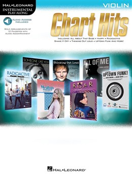 Autuers Divers : Instrumental Play-Along: Chart Hits - Violin (Book/Online Audio)