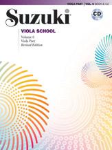 Suzuki Shinichi : Suzuki Viola School Vol 6 (with CD)