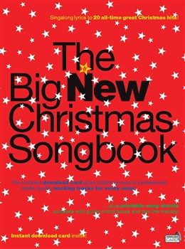 The Big New Christmas Songbook - Book - Audio Download