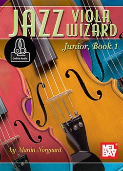 Norgaard Martin : Jazz Viola Wizard Junior - Book 1
