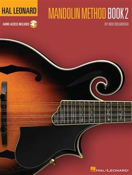 Hal Leonard Mandolin Method - Book 2 - Book - Online Audio