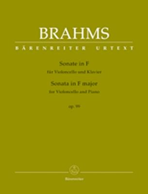 Sonata For Violoncello And Piano F Major Op. 99