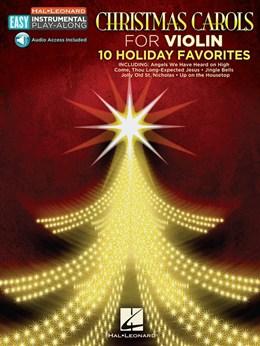 Violin Easy Instrumental Play Along : Christmas Carols - Book - Online Audio