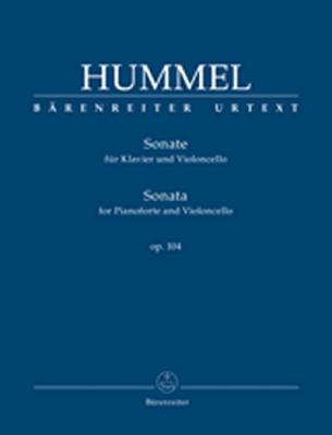 Sonata For Pianoforte And Violoncello Op. 104