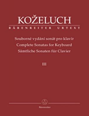 Complete Sonatas For Keyboard III