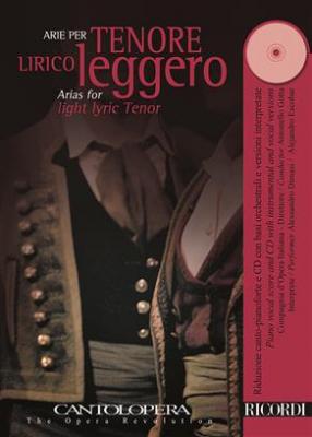 Cantolopera: Arie Per Tenore Lirico Leggero