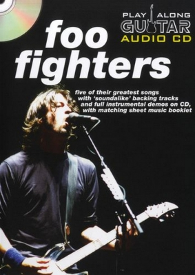Foo Fighters : Foo Fighters Play Along Guitar Audio Cd (Format Boitier Dvd)