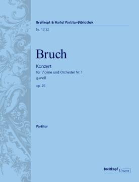Bruch Max : Violin Concerto #1 in G minor op. 26 Alto