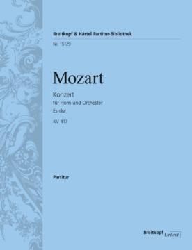 Mozart Wolfgang Amadeus : Horn concerto [No. 2] in Eb major K. 417 Alto