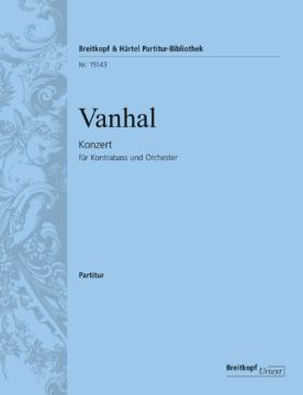 Vanhal Johann Baptist : Double Bass Concerto Violon 2