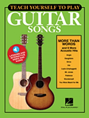 Teach Yourself To Play Guitar Songs : More Than Words And 9 More Acoustic Hits