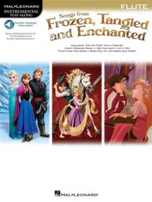 Songs From Frozen, Tangled and Enchanted - Flute