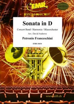 Francheschini P. : Sonata in D (2 Tenor Sax)