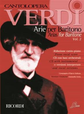 Verdi Giuseppe : Cantolopera: Verdi Arie per Baritono 2
