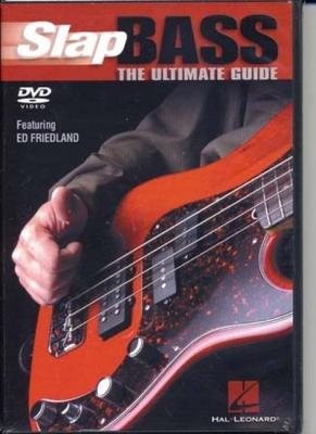 Friedland Ed : Dvd Slap Bass Ultimate Guide
