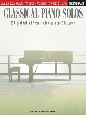Thompson John : John Thompson's Modern Course: Classical Piano Solos - Second Grade