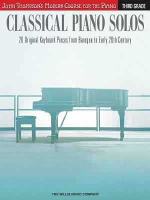 Modern Course : Classical Piano Solos - Third Grade
