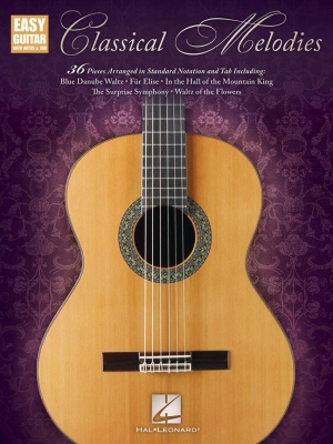 Classical Melodies: Easy Guitar With Notes And Tab