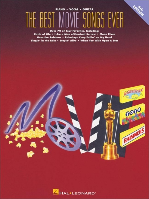 The Best Movie Songs Ever Songbook - 4th Edition
