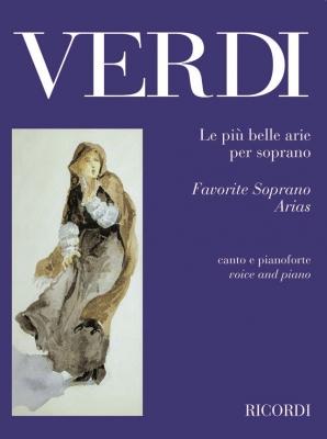 Verdi Giuseppe : PIU' BELLE ARIE PER SOPRANO PER CANTO E PIANOFORTE
