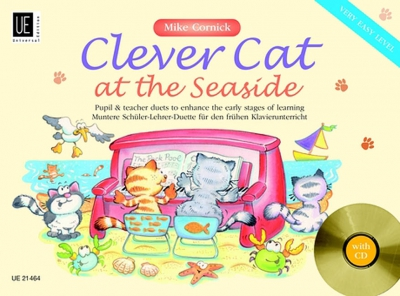 Cornick Mike : Clever Cat at the Seaside with CD