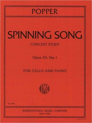 Popper David : SPINNING WHEEL Op55 1 Vc Pft