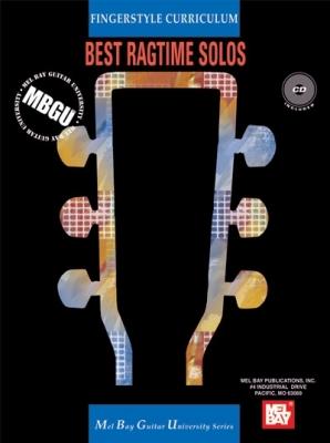 Gangel William : MBGU Fingerstyle Curriculum: Best Ragtime Solos