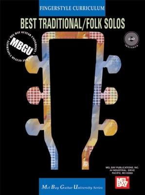 Gangel William : MBGU Fingerstyle Curriculum: Best Traditional Folk Solos