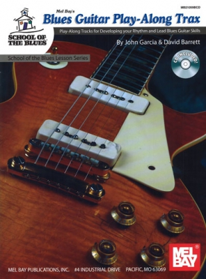Garcia John : Blues Guitar Play-Along Trax
