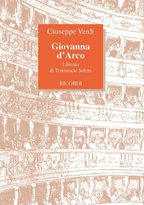 Verdi Giuseppe : GIOVANNA D'ARCO