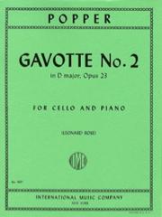 Popper David : Gavotte #2 Op.23