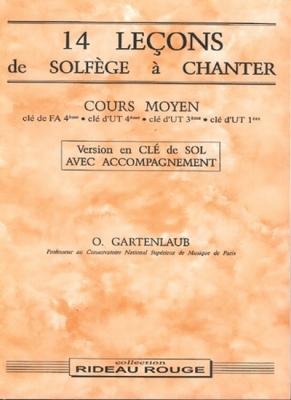 14 Lecons Cours Moyen Sol+Acc.