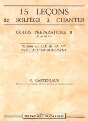 15 Lecons Cours Prep.B Fa+Acc.
