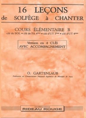 16 Lecons Cours El.B 4 Clés+Ac