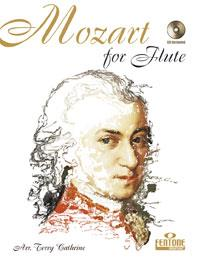 Mozart Wolfgang Amadeus : MOZART FOR FLUTE / arr. Terry Cathrine