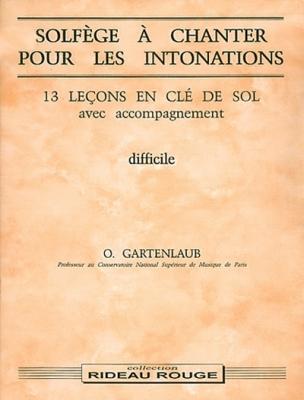 Solfège A Chanter X Les Inton.