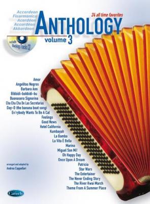 Cappellari Andrea : ANTHOLOGY ACCORDEON 3 + CD