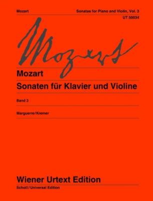 Mozart Wolfgang Amadeus : Sonatas Band 3