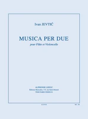Jevtic Ivan : Musica Per Due
