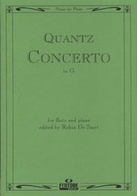 Concerto In G / Quants - Flûte Et Piano